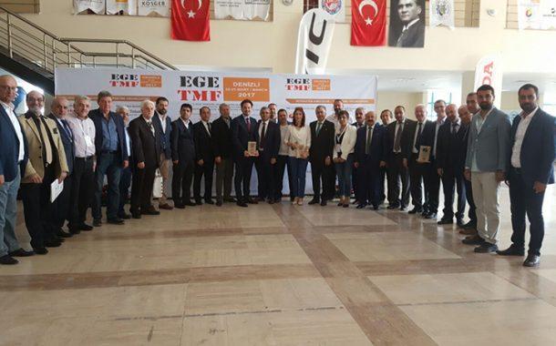 EGE TMF SPONSORLARINA PLAKET VERİLDİ